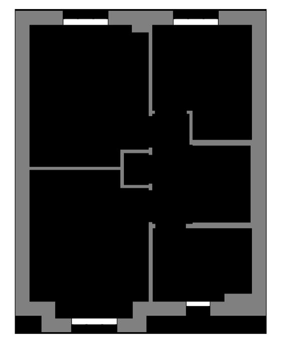 The Avalon first floor floor-plan