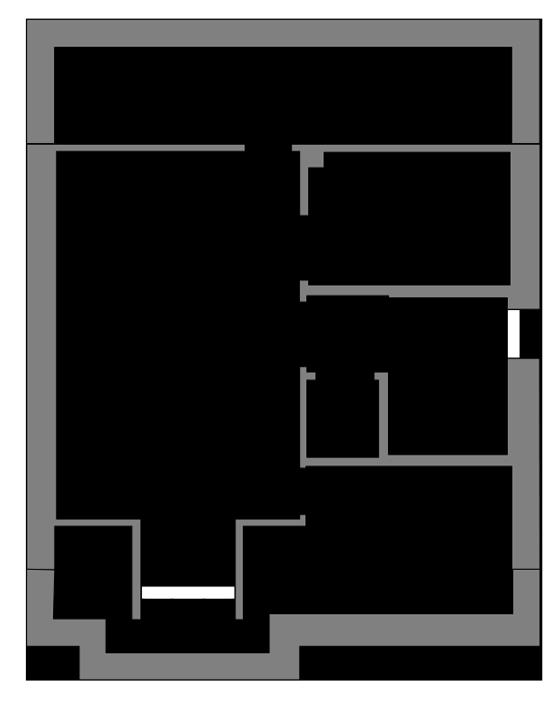 The Avalon second floor floor-plan