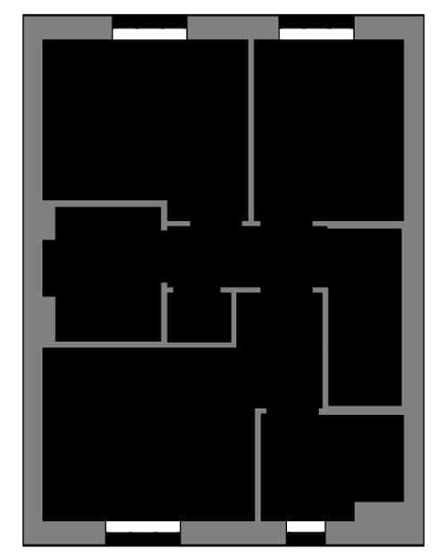 The Bishop first floor floor-plan