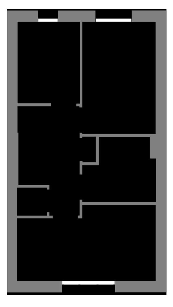 The Ebbor first floor floor plan
