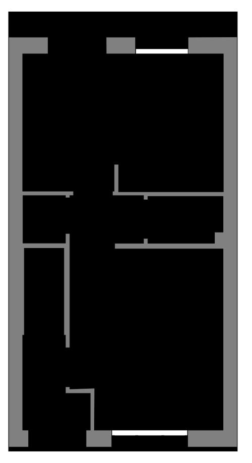 The Ebbor ground floor floor plan
