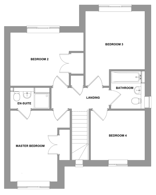 The Elmstead -  First Floor Floor plan