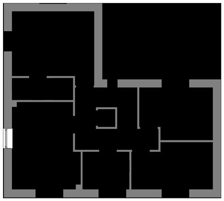 The Oak first floor floor-plan