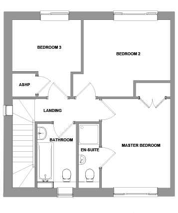 The Porter Floorplan - First Floor