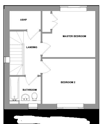 The Roman Floorplan - First Floor