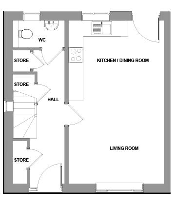 The Roman Floorplan - Ground Floor