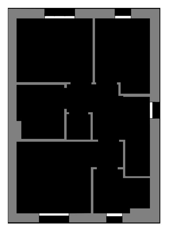 The Shapwick first floor floor-plan