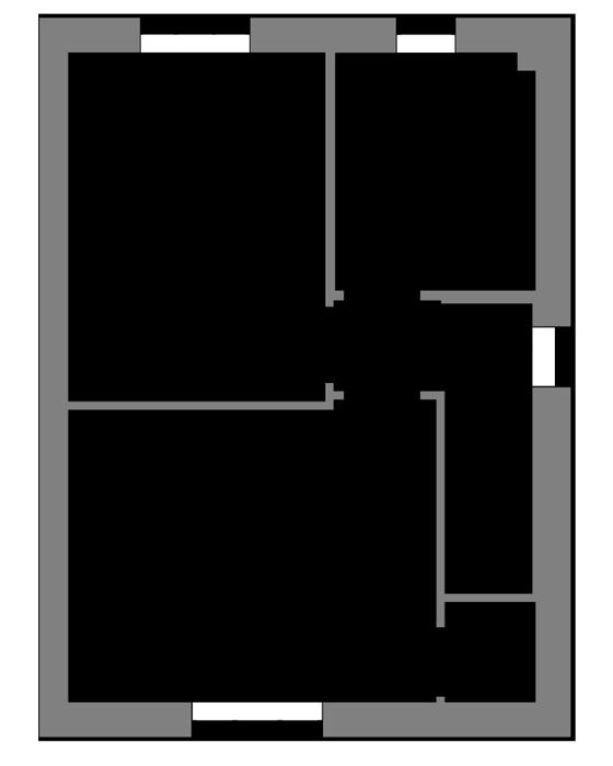 The Wells first floor floor-plan