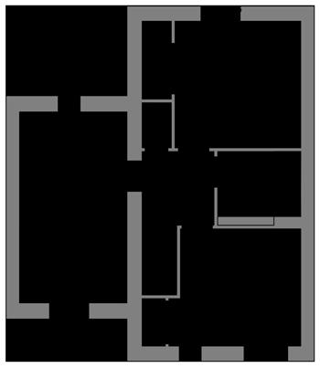 The Willow first floor floor-plan