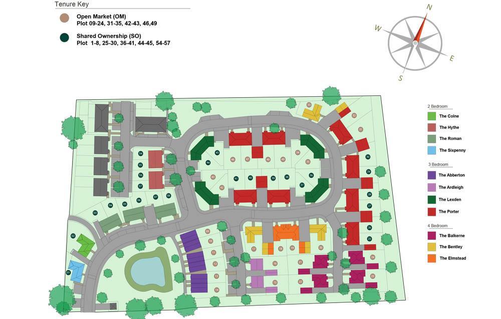 Pennyfields Site Plan