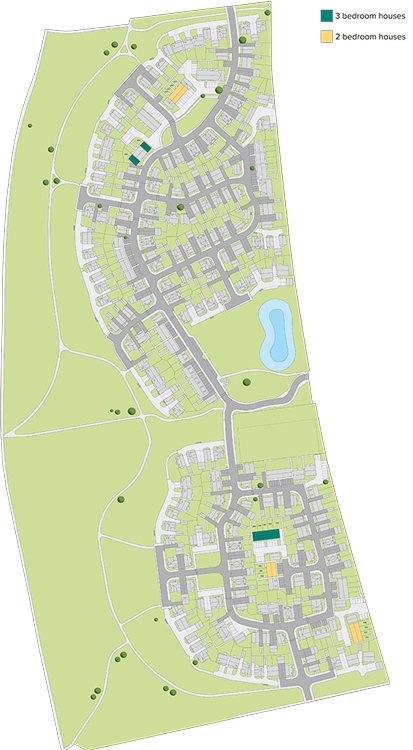 Orchard View - Site plan Phase 2
