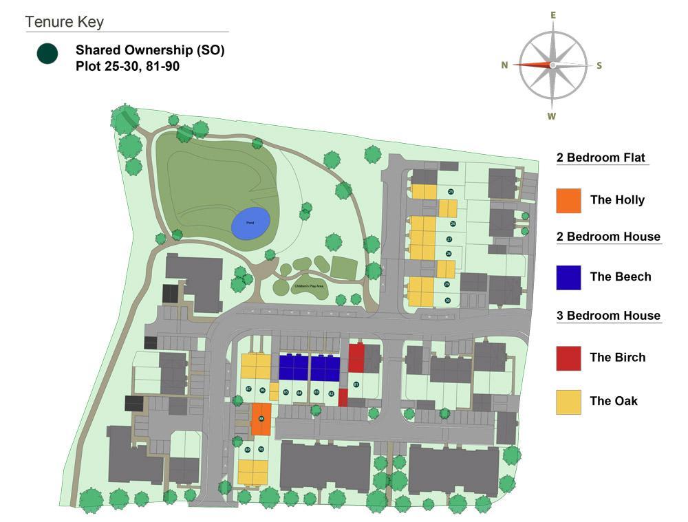 Chestnut Meadows site plan