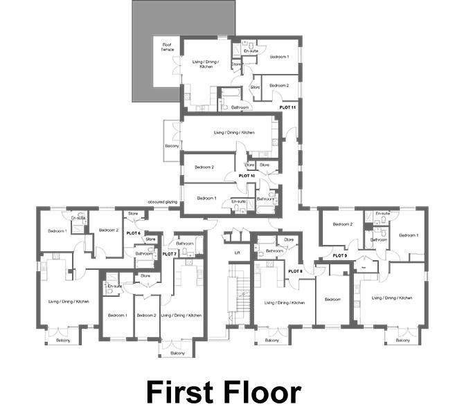 The Westcliffs - First Floor