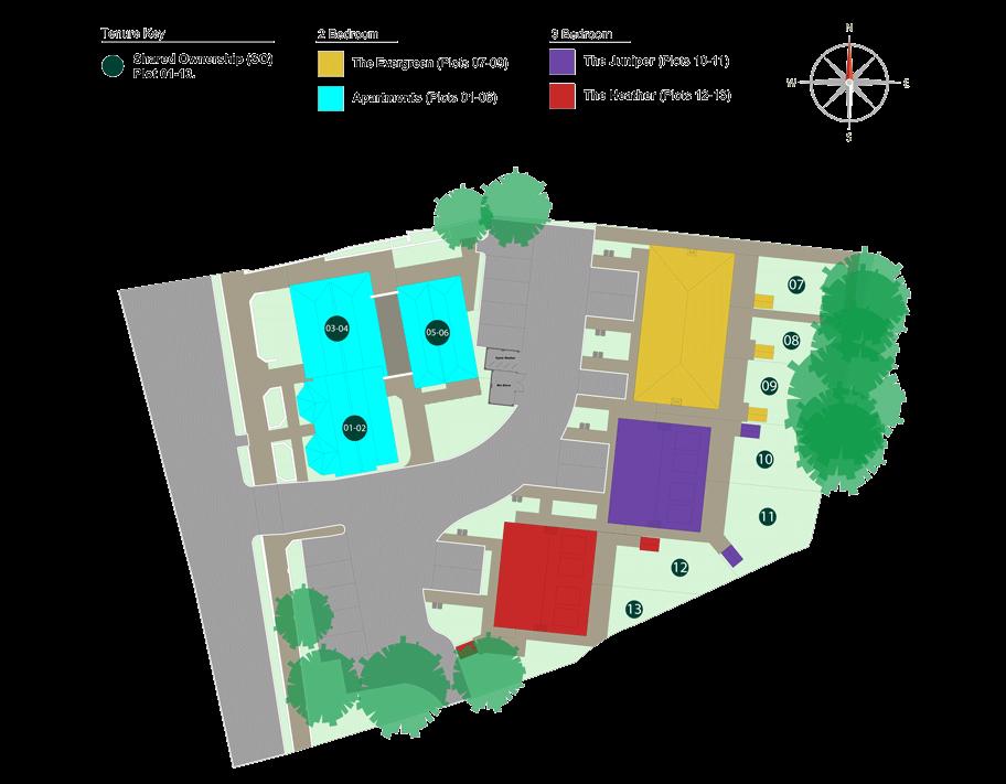 Site Plan for Gatton Grove