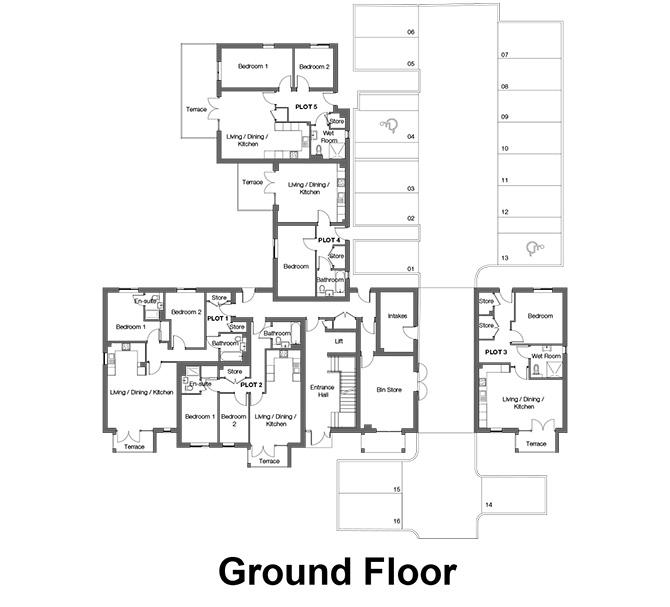 The Westcliffs - Ground Floor