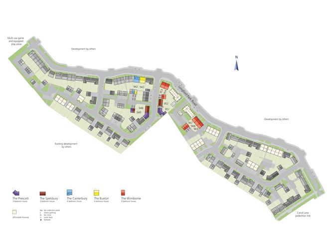 Site plan for Longford Park
