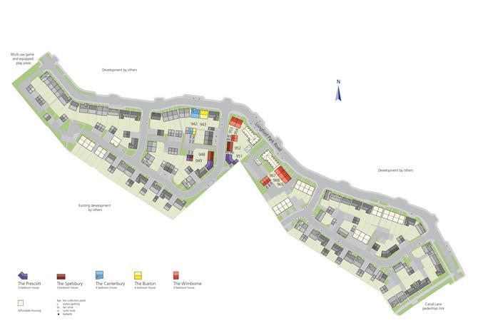Site plan for Longford Park