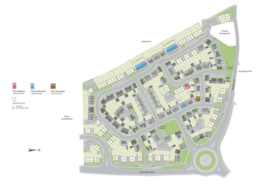 Millwood Meadows Site Plan
