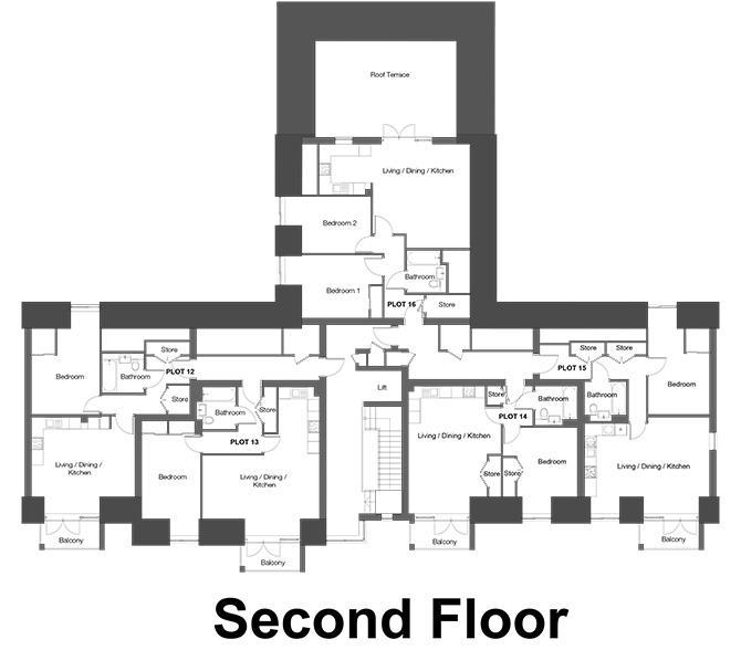 The Westcliffs - Second Floor