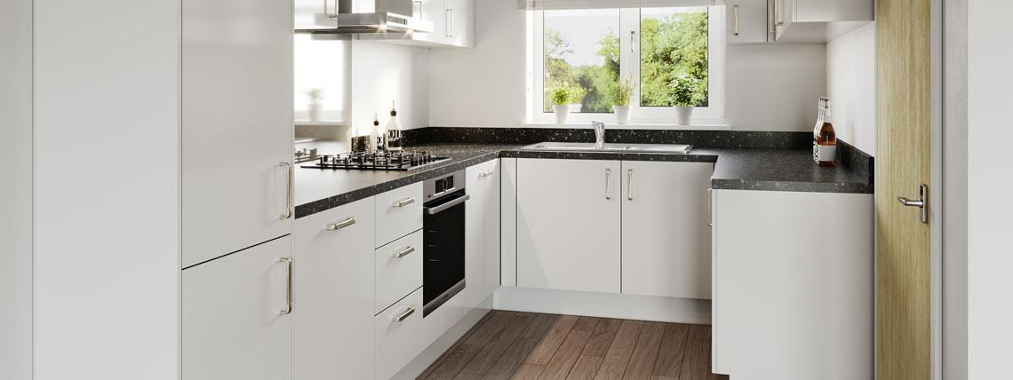 Example CGI Kitchen at Chestnut Meadows