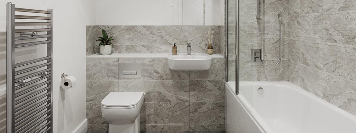Gatton Grove Apartments - Representative Bathroom