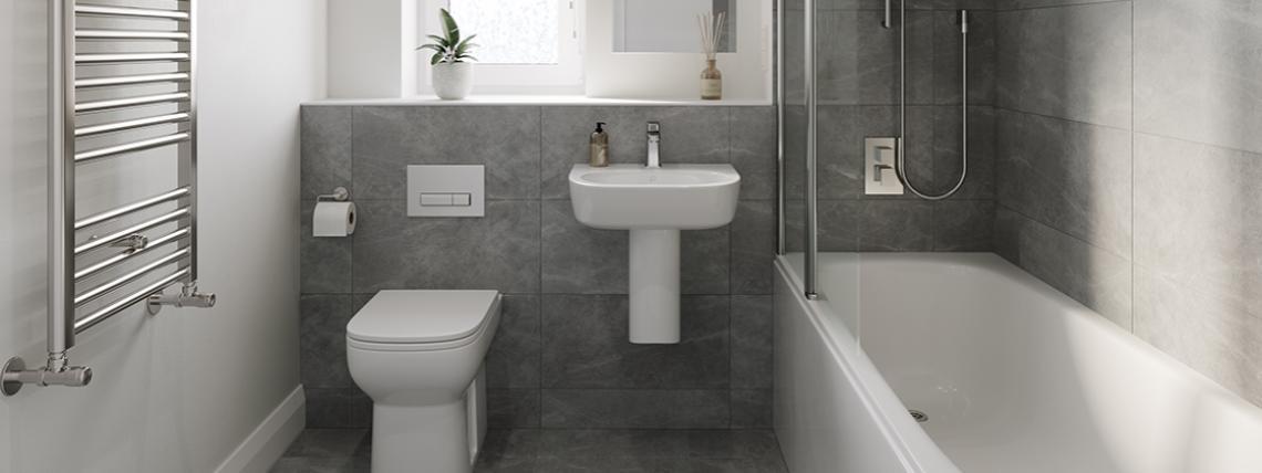 Bathroom at The Abberton