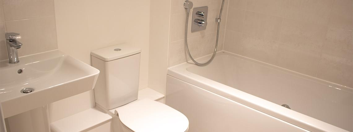 Internal shot of bathroom