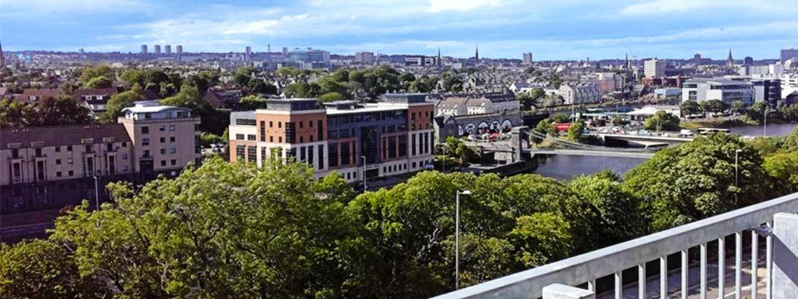 Example balcony view at Walker Gardens