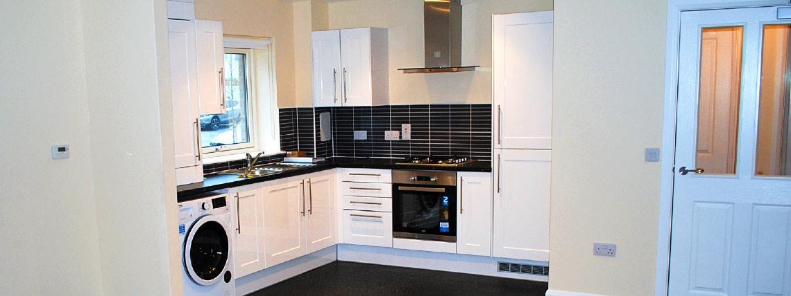 Example kitchen interior at Walker Gardens