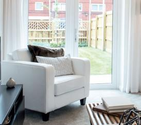 Example living room at our Chase Park development