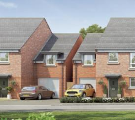 CGI of the Chase Park development