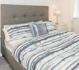 Example bedroom at our Chase Park development