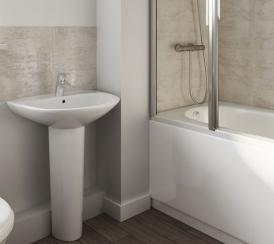 Example CGI Bathroom at Chestnut Meadows