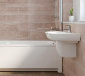 CGI example bathroom from The Avalon at Kingsfield, Glastonbury