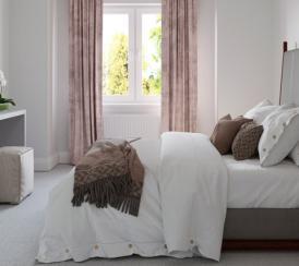 CGI example bedroom from The Avalon at Kingsfield, Glastonbury