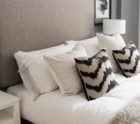 Quadrangle example bedroom duplex apartments