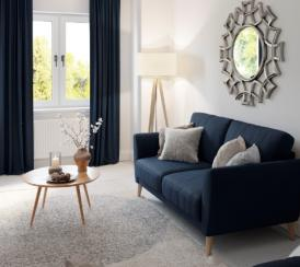 Sanctuary Homes High Elms development example of a living room