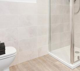 Example bathroom in one of our Station Square apartments in Harrogate.