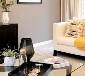 Living area interior
