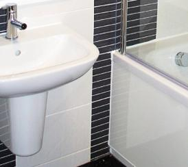 Example bathroom interior at Walker Gardens