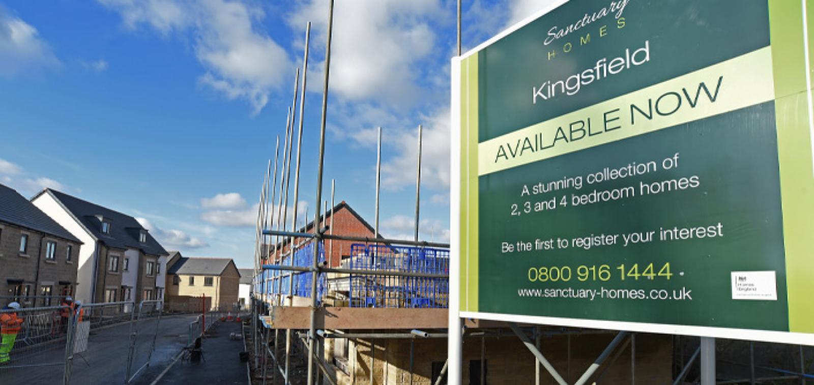 Sanctuary Homes' Kingsfield development