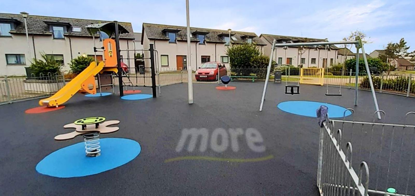 Children's playground at Portsoy