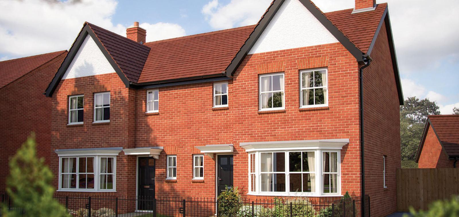 Bidford Leys development in Bidford-on-Avon