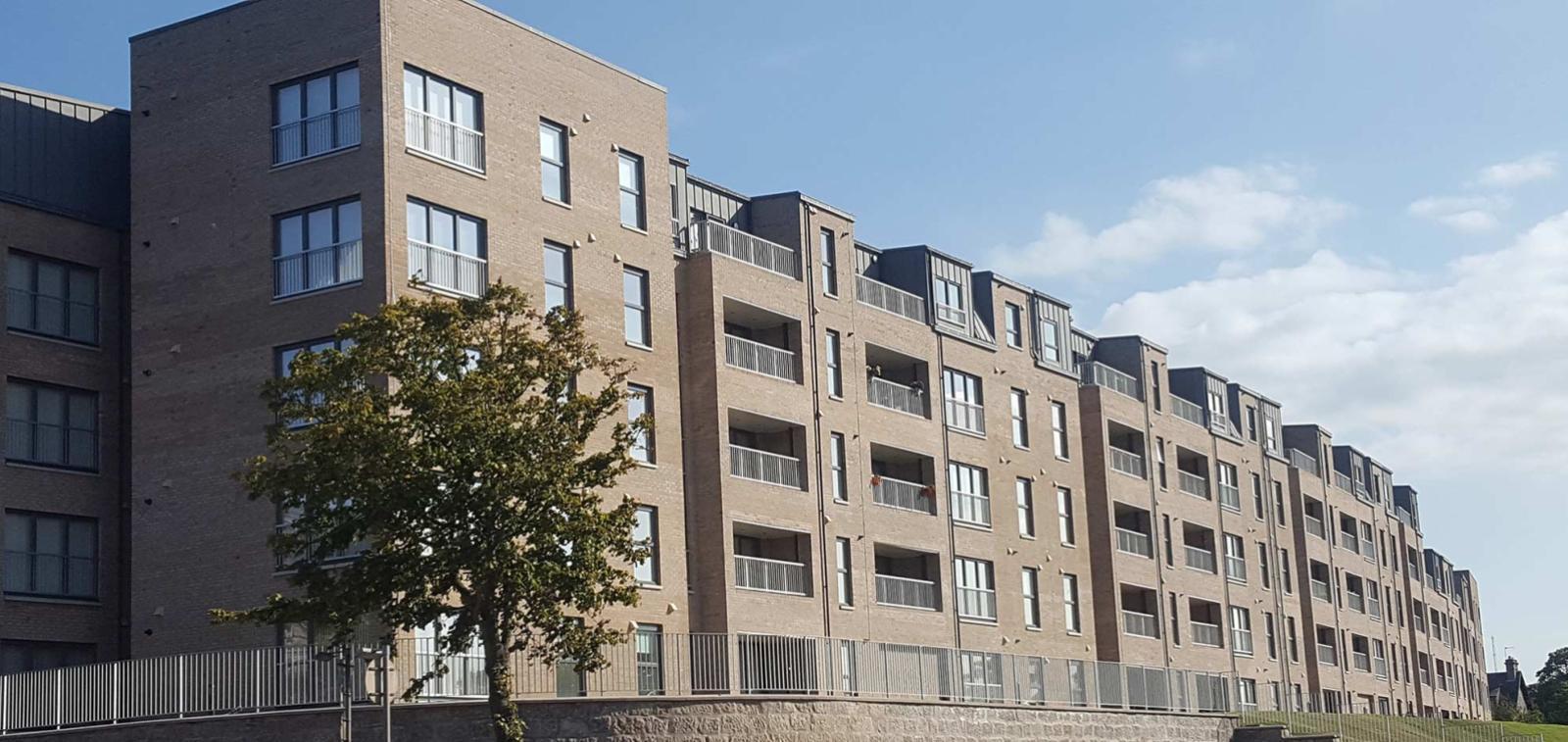 Craiginches development in Aberdeen