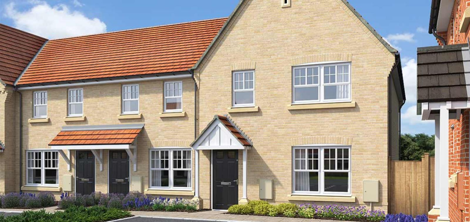 CGI rendering of the Halyard house type at High Elms Park