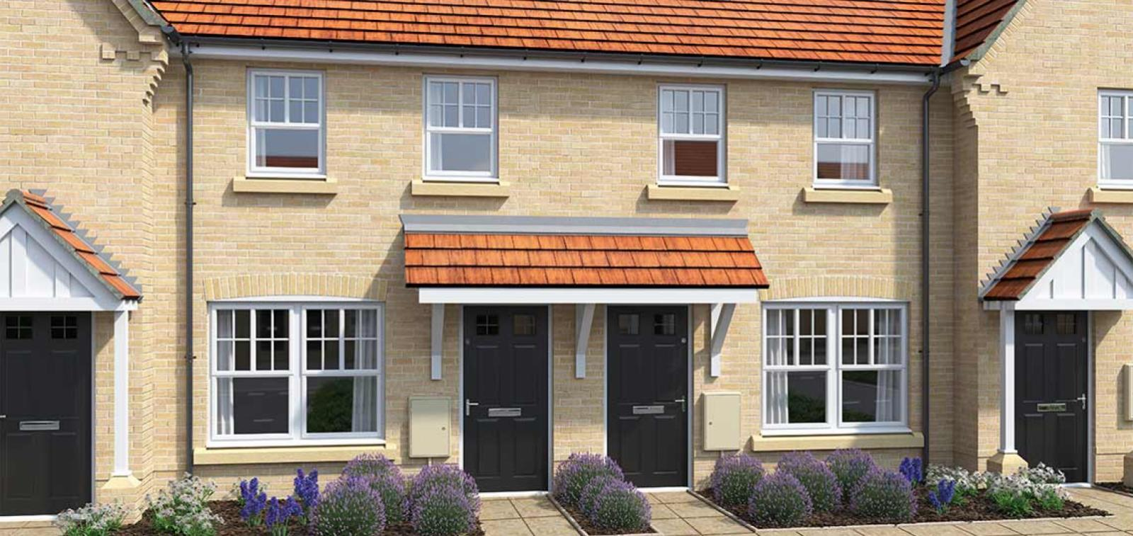 CGI rendering of the Ketch house type at High Elms Park