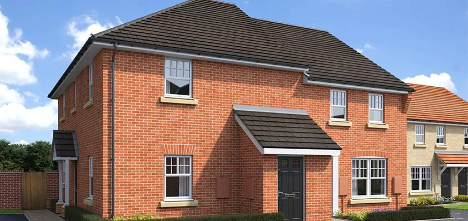 CGI rendering of the Waypoint house type at High Elms Park