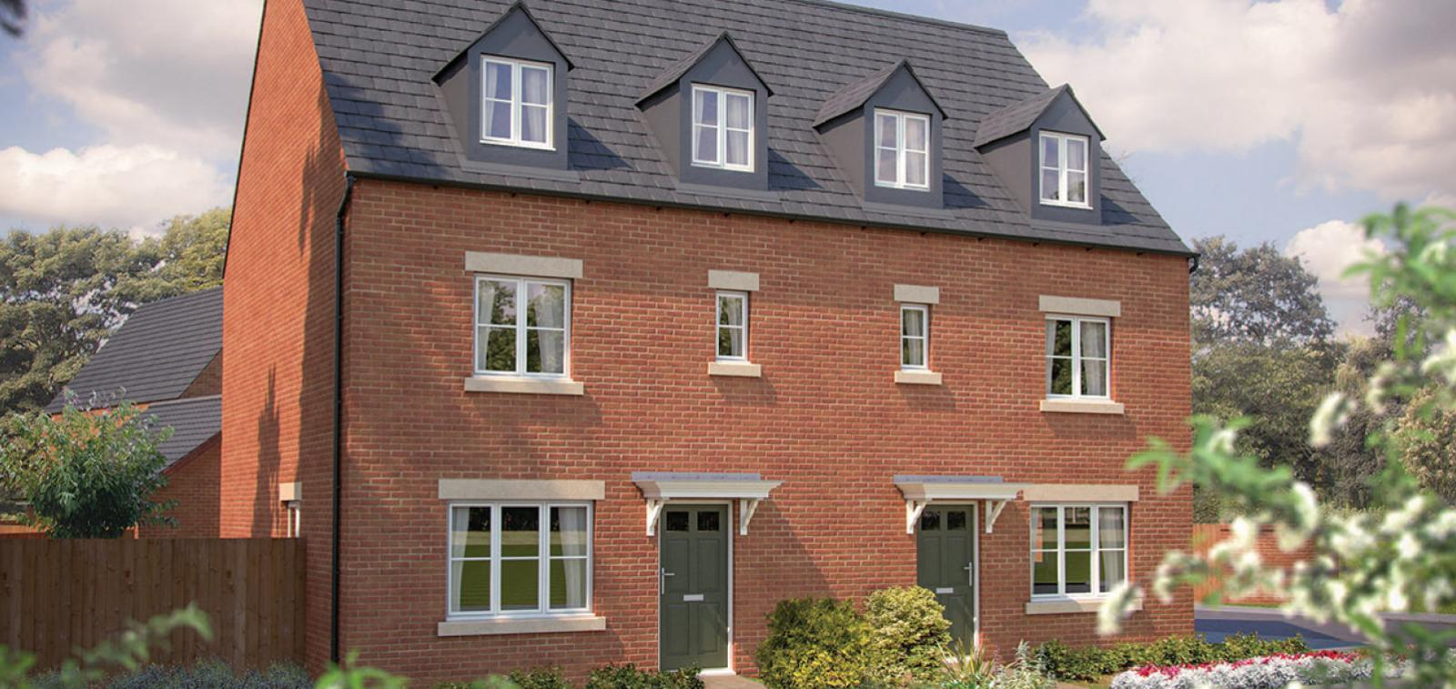 Longford Park development in Banbury, Oxfordshire