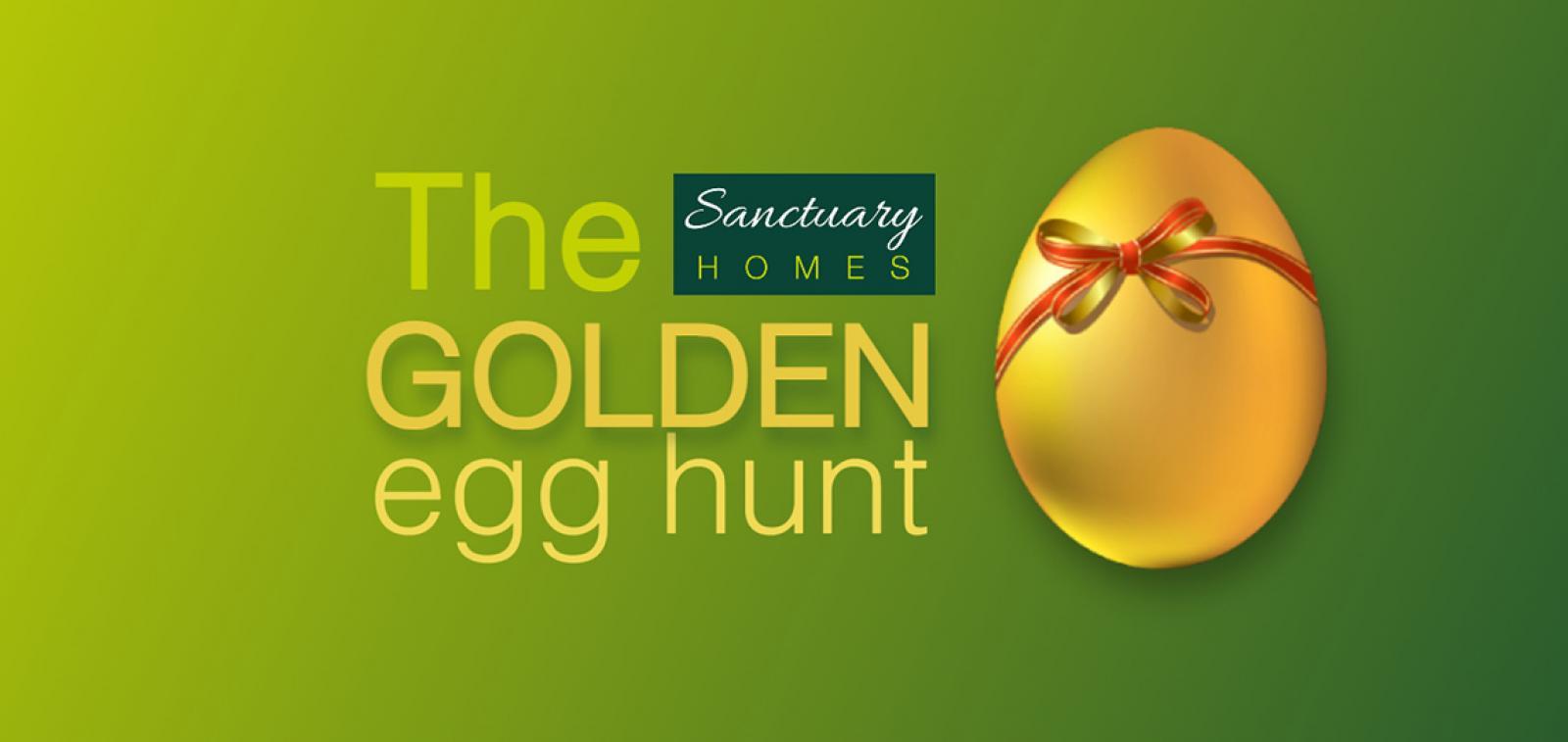 Sanctuary Homes The Golden Egg Hunt logo