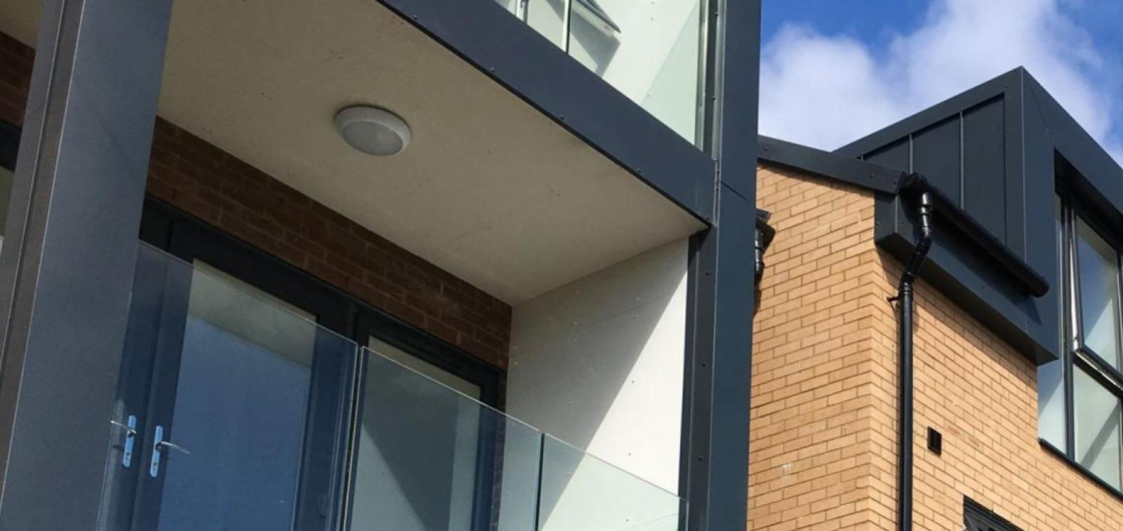 Exterior of new homes completed in Westcliff-on-Sea